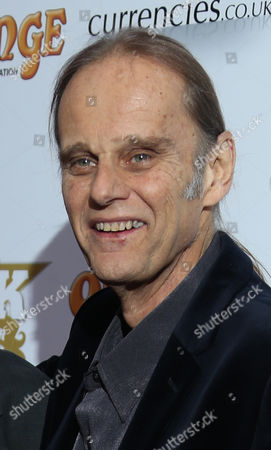 Walter Trout, right arrives at the Classic Rock Roll of Honour awards 2013 at the Camden Roundhouse in north London