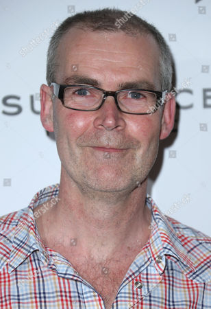Stock Picture of Director Andy Heathcote arrives for a screening of The Moo Man as part of the Sundance Film Festival in the UK, at the o2 Arena in east London