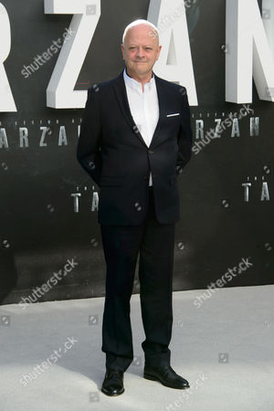 David Barron poses for photographers at the European premiere for the film 'The Legend Of Tarzan' at a central London cinema, London