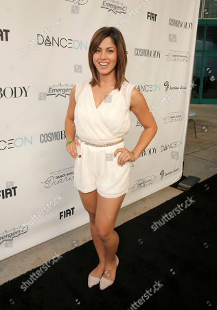 Megan Batoon attends the DanceOn Ultimate Spotlight Event at Los Angeles Convention Center on in Los Angeles