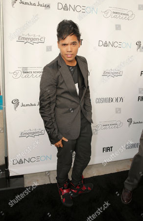 Stock Image of Dominic D-Trix Sandoval attends the DanceOn Ultimate Spotlight Event at Los Angeles Convention Center on in Los Angeles