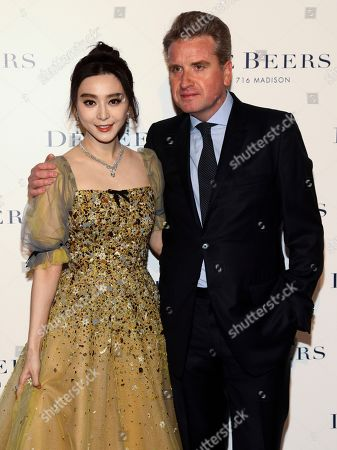 Editorial image of De Beers Flagship Store Opening, New York, USA