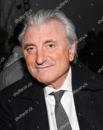 Four Seasons co-owner Julian Niccolini is seen at the Fall 2013 Thom Browne Runway Show at Fashion Week in New York