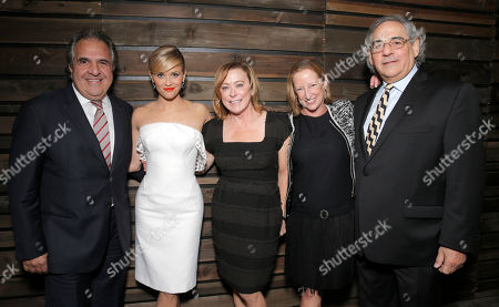 Chairman and Chief Executive Officer of Fox Filmed Entertainment Jim Gianopulos, Reese Witherspoon, Fox Searchlight President Nancy Utley, President of Production Claudia Lewis and Fox Searchlight President Steve Gilula attend the Los Angeles Premiere of Fox Searchlight's 'Wild' at AMPAS Samuel Goldwyn Theater on in Los Angeles