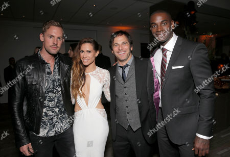Luke Prusinski, Kimberly Cole, Executive Producer Nathan Ross and Mo McRae attend the Los Angeles Premiere of Fox Searchlight's 'Wild' at AMPAS Samuel Goldwyn Theater on in Los Angeles
