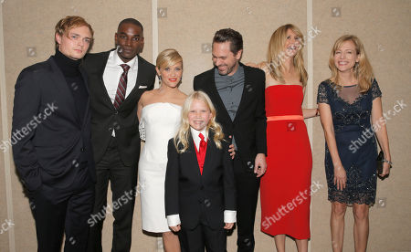 Keene McRae, Mo McRae, Reese Witherspoon, Bobbi Strayed Lindstrom, Thomas Sadoski, Laura Dern and Cathryn de Prume attend the Los Angeles Premiere of Fox Searchlight's 'Wild' at AMPAS Samuel Goldwyn Theater on in Los Angeles