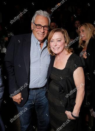 Hawk Koch and Fox Searchlight President Nancy Utley attend the Los Angeles Premiere of Fox Searchlight's 'Wild' at AMPAS Samuel Goldwyn Theater on in Los Angeles