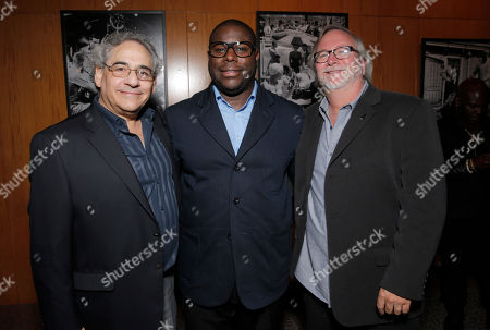 Fox Searchlight President Steve Gilula, Director Steve McQueen and Cinematographer Sean Bobbitt attend Fox Searchlight's Los Angeles Premiere of 12 Years A Slave, on Monday, October, 4th, 2013 in Los Angeles