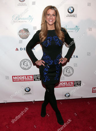Television commentator Bonnie Bernstein attends the Friars Club Roast Honoring Boomer Esiason on in New York