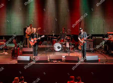 Ben Bridwell from Band of Horses and Samuel Beam as Iron & Wine performs at The Tabernacle, in Atlanta