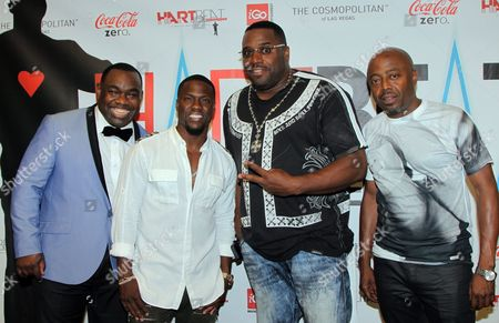 "Editorial image of Kevin Hart ""Hartbeat"" Weekend Events, Las Vegas, USA"