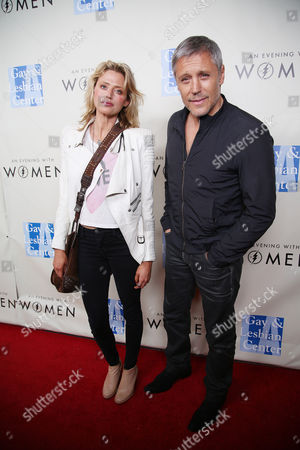 """Estella Warren and Max Ryan arrive at L.A. Gay and Lesbian Center """"An Evening with Women"""" Kick Off Concert Event on in West Hollywood, Calif"""