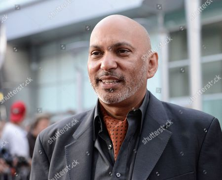 """Director Suri Krishnamma arrives on the red carpet at the premiere of the feature film """"Dark Tourist"""" at the ArcLight Cinemas on in Los Angeles"""
