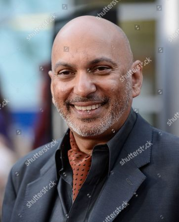 """Stock Image of Director Suri Krishnamma arrives on the red carpet at the premiere of the feature film """"Dark Tourist"""" at the ArcLight Cinemas on in Los Angeles"""