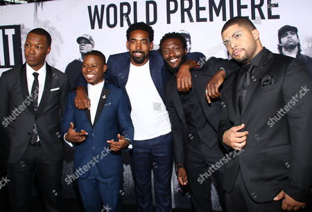 "Editorial image of LA Premiere of ""Straight Outta Compton"" - Red Carpet, Los Angeles, USA"