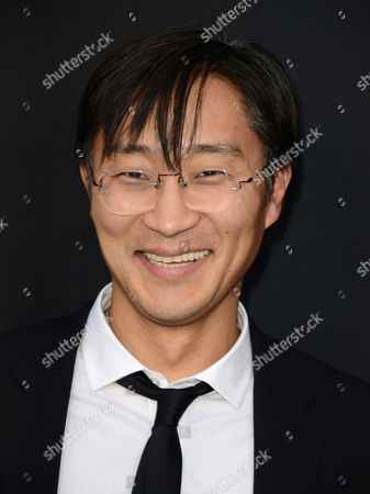 "Keong Sim arrives at the LA premiere of ""Olympus Has Fallen"" at the ArcLight Theatre on in Los Angeles"