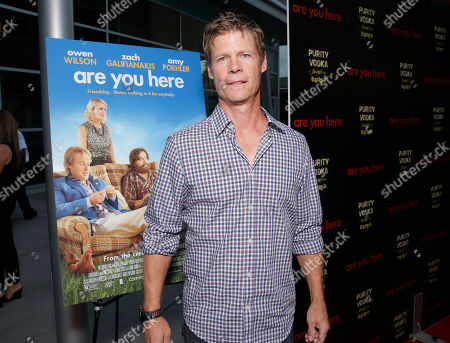 Joel Gretsch attends the premiere of 'Are You Here' at ArcLight Hollywood on in Hollywood, California