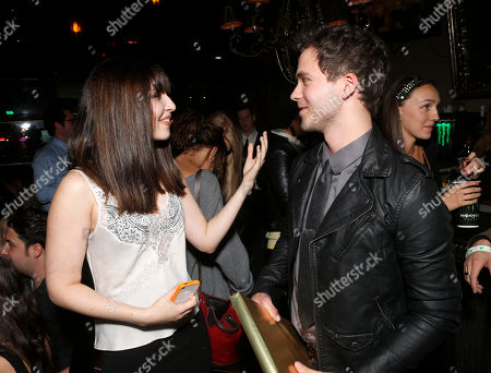 Editorial photo of Monster Energy Drink and Nickelodeon Star Erin Sanders Throw Surprise Birthday Party for Stephen Lunsford, Los Angeles, USA
