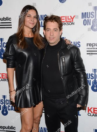 Republic Records executive vice president Charlie Walk and wife Lauren attend Musicians On Call 15th Anniversary at Espace, in New York