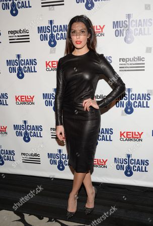 Monique Zordan attends Musicians On Call 15th Anniversary at Espace, in New York