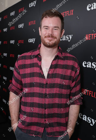 """Director Joe Swanberg seen at Netflix cast and crew screening of new original series """"EASY"""" at London West Hollywood, in West Hollywood, CA"""