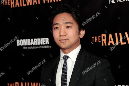 "Actor Tanroh Ishida attends the New York premiere of ""The Railway Man"", in New York"