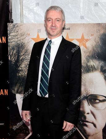 """Producer Andy Paterson attends the New York premiere of """"The Railway Man"""", in New York"""