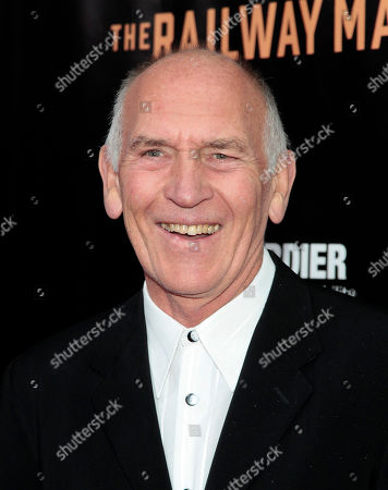 """Producer Bill Curbishley attends the New York premiere of """"The Railway Man"""", in New York"""