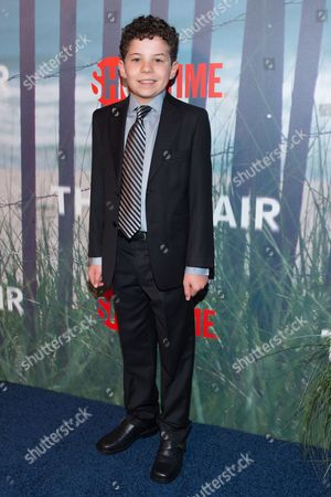 "Jadon Sand attends the series premiere of SHOWTIME's drama ""The Affair"" at the North River Lobster Company, in New York"