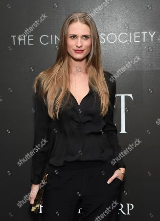 """Editorial image of NY Special Screening of """"Miss Sloane"""", New York, USA"""