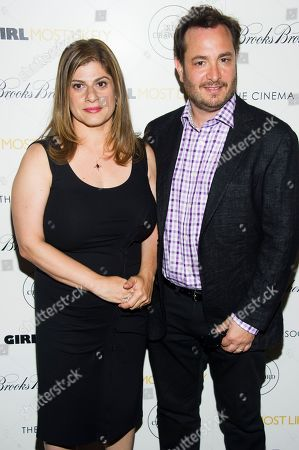 "Shari Springer Berman and Robert Pulcini attend a screening of Lionsgate & Roadside Attractions' ""Girl Most Likely"" hosted by the Cinema Society & Brooks Brothers on in New York"