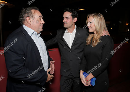 Writer/Director/Producer Leslie Greif, Jesse Bradford and Nikki Leigh attend the after party for the premiere of Screen Media Films' '10 Rules For Sleeping Around' at the Egyptian Theatre on in Hollywood, California