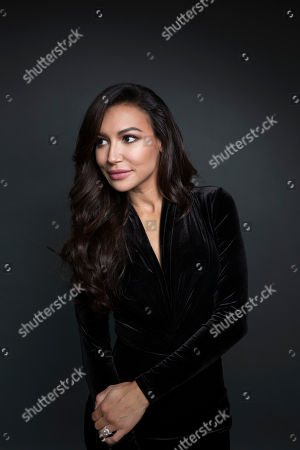 """Actress Naya Rivera poses for a portrait in New York. The """"Glee"""" actress addresses her breakups, and events surrounding co-stars Mark Salling, Cory Monteith and Lea Michele in her new book, Sorry Not Sorry: Dreams, Mistakes, and Growing Up, which was released on Sept. 13"""