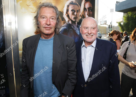 Executive Producer Bob Shaye and Executive Producer Michael Lynne seen at Screen Gems 'The Mortal Instruments: City of Bones' Los Angeles Premiere, on Monday, August, 12, 2013 in Los Angeles