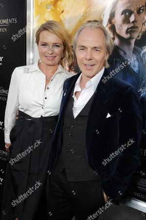 Veslemoy Ruud Zwart and Director Harald Zwart seen at Screen Gems 'The Mortal Instruments: City of Bones' Los Angeles Premiere, on Monday, August, 12, 2013 in Los Angeles