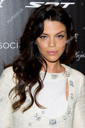 """Vanessa Ferlito attends the premiere of """"Stand Up Guys"""" hosted by The Cinema Society and Chrysler on in New York"""