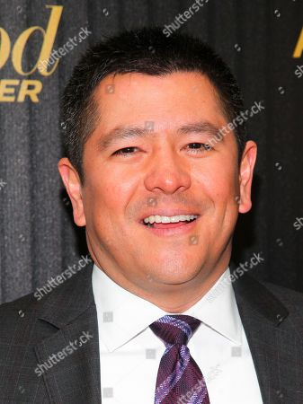 """Carl Quintanilla attends The Hollywood Reporter's """"35 Most Powerful People in Media"""" celebration at the Four Seasons Restaurant, in New York"""
