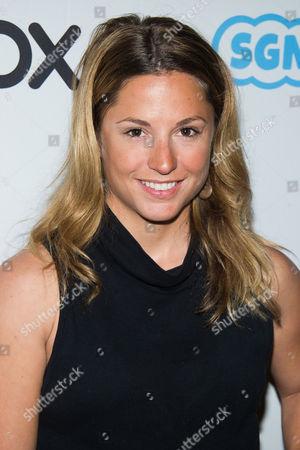 Stock Image of Melissa Arnot attends The Wrap's Power Women Breakfast, in New York