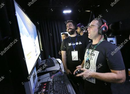 Stock Picture of Adam Perry Lang playing Steep at Ubisoft E3 2016 - Day 3 at the Los Angeles Convention Center, in Los Angeles