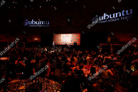 Ubuntu Founder and CEO, Jacob Lief speaks at the Ubuntu Education Fund Gala at Gotham Hall, on in New York