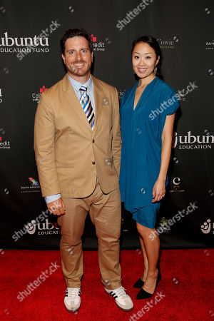 Stock Picture of Seamus Mullen and Lynn Juang seen at the Ubuntu Education Fund Gala at Gotham Hall, on in New York