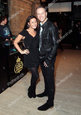 Haley Tamaddon and Daniel Whiston attend the premiere of The Cirque du Soleil new show Quidam, at the Royal Albert Hall,, in London
