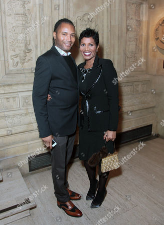 Stock Image of Adrian Grant and Denise Pearson attend the premiere of The Cirque du Soleil new show Quidam, at the Royal Albert Hall,, in London