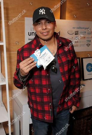 Jeremiah Bitsui at unite4good at Sundance 2014 with Variety, on Monday, January, 21, 2014 in Park City, Utah