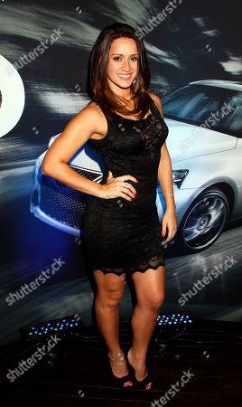 Melissa Marty attends Vida Lexus and Alegria Magazine Present Sabor De Lujo on at Lure nightclub in Hollywood, Calif