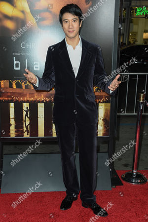 Leehom Wang arrives at the world premiere of Blackhat at TCL Chinese Theatre, in Los Angeles
