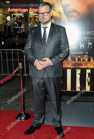 Yorick van Wageningen arrives at the world premiere of Blackhat at TCL Chinese Theatre, in Los Angeles