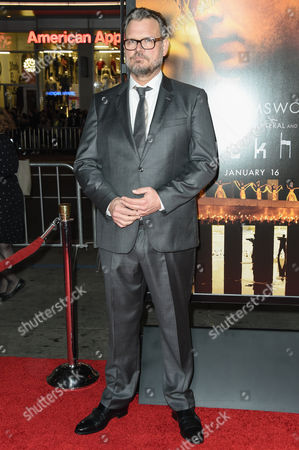 Yorick van Wageningen arrives at the world premiere of Blackhat at the TCL Chinese Theatre, in Los Angeles