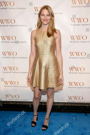 Fashion model Sara Ziff attends the Worldwide Orphans 15th Annual Benefit Gala, at Cipriani Wall Street on in New York
