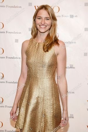 Stock Picture of Fashion model Sara Ziff attends the Worldwide Orphans 15th Annual Benefit Gala, at Cipriani Wall Street on in New York